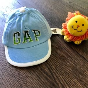 3/$25 NWT Baby Blue & White Gap Logo Baseball Cap